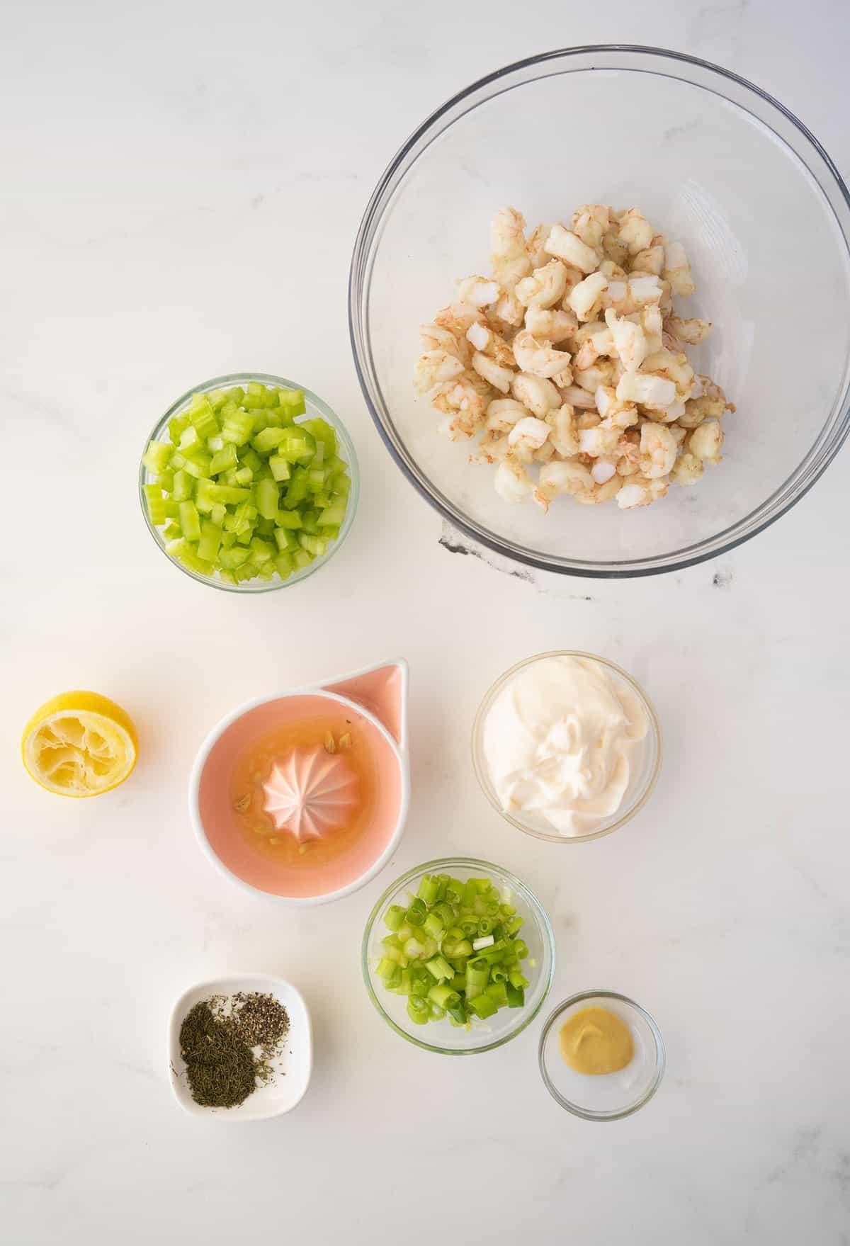 shrimp salad ingredients