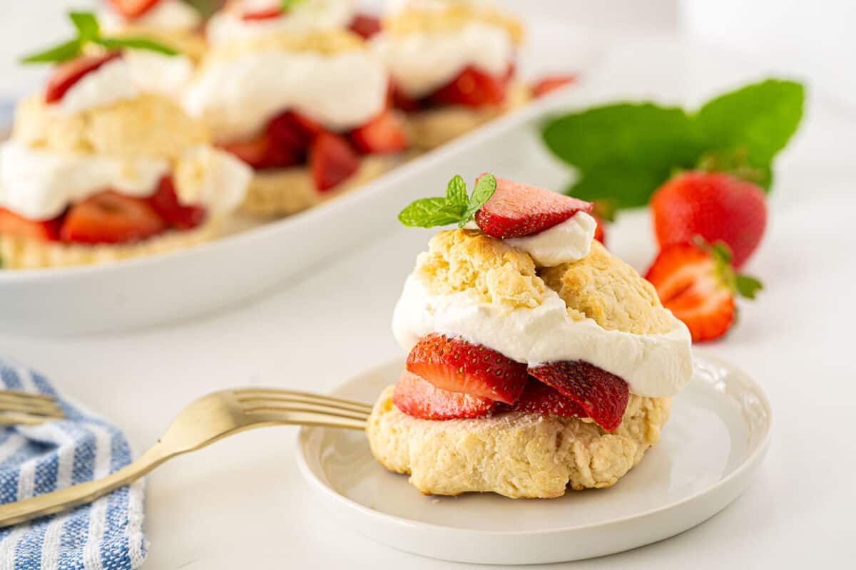 Bisquick™ Strawberry Shortcake