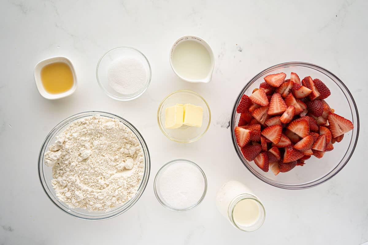 Bisquick™ Strawberry Shortcake Ingredients