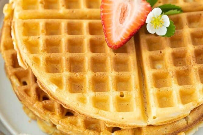 bisquick waffles
