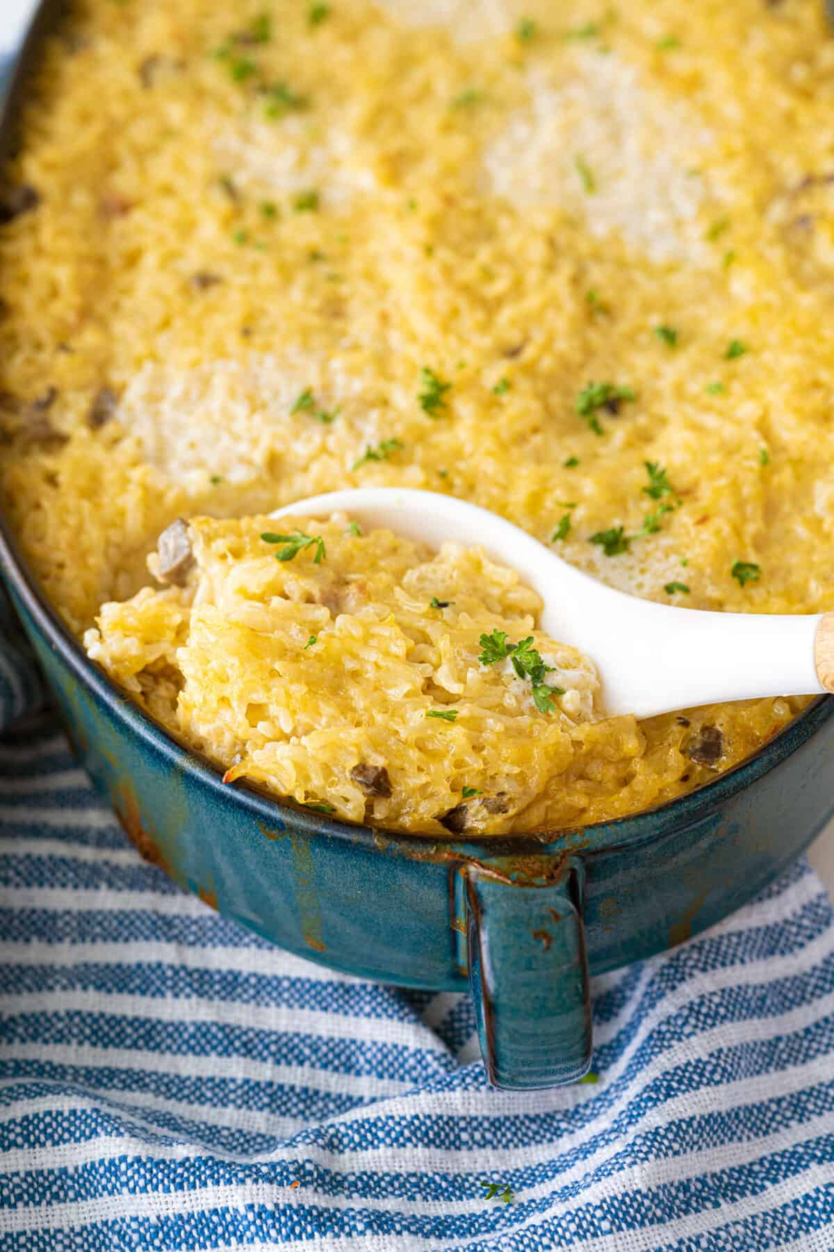 Buttery Mushroom Rice