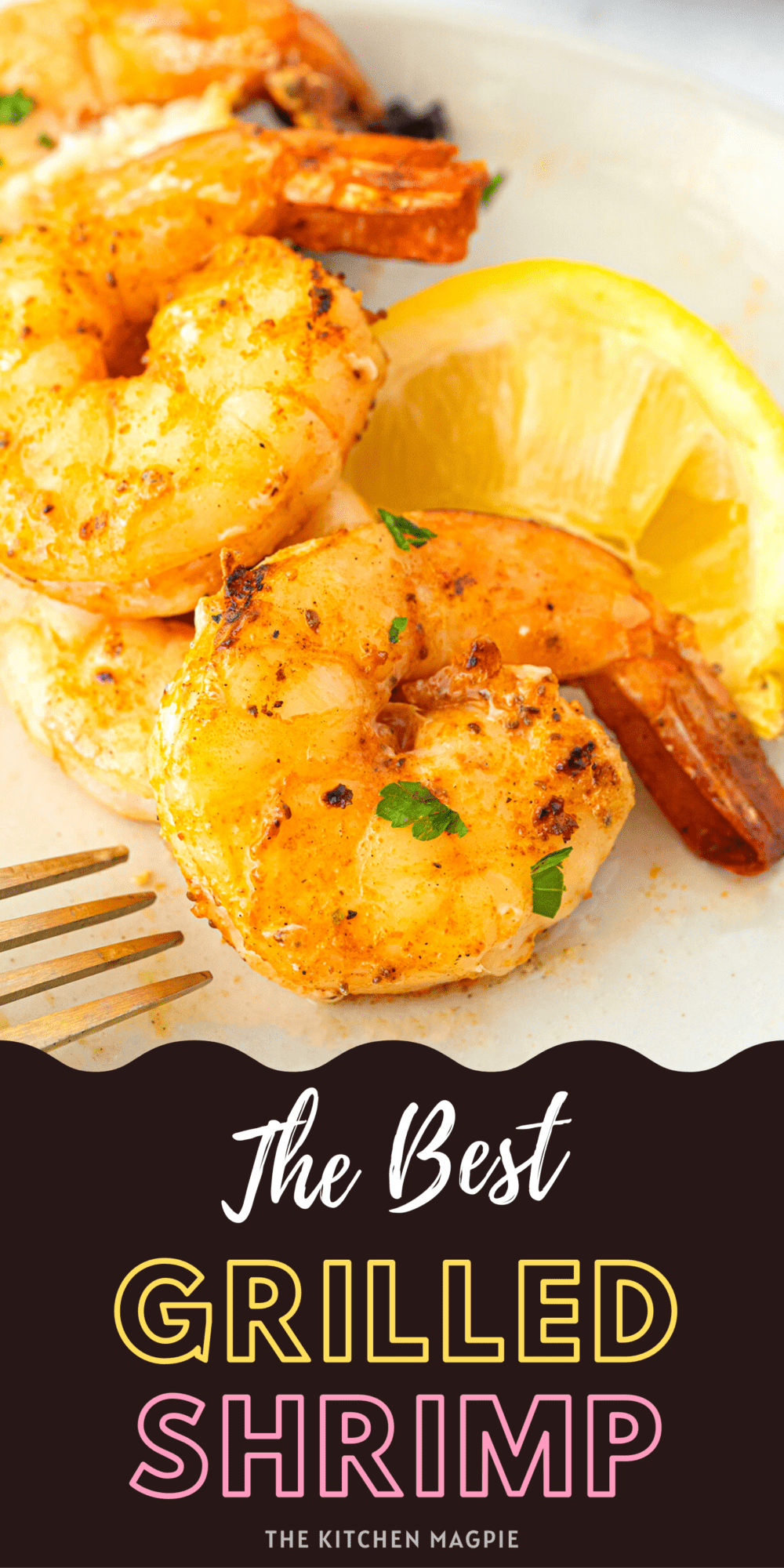 Juicy, succulent, and a ton of flavor, grilled shrimp is the perfect seafood grilling option - here are two different flavors in one recipe!