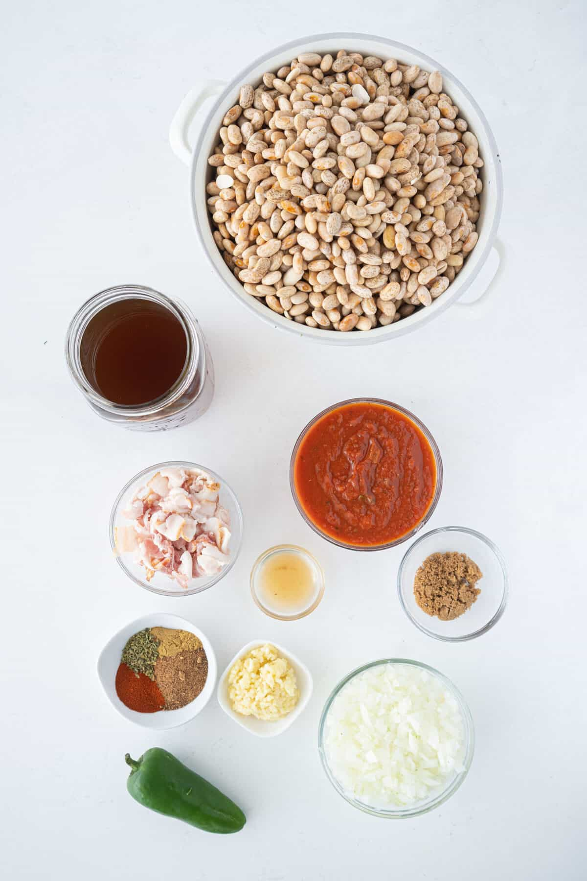 ingredients for ranch style beans