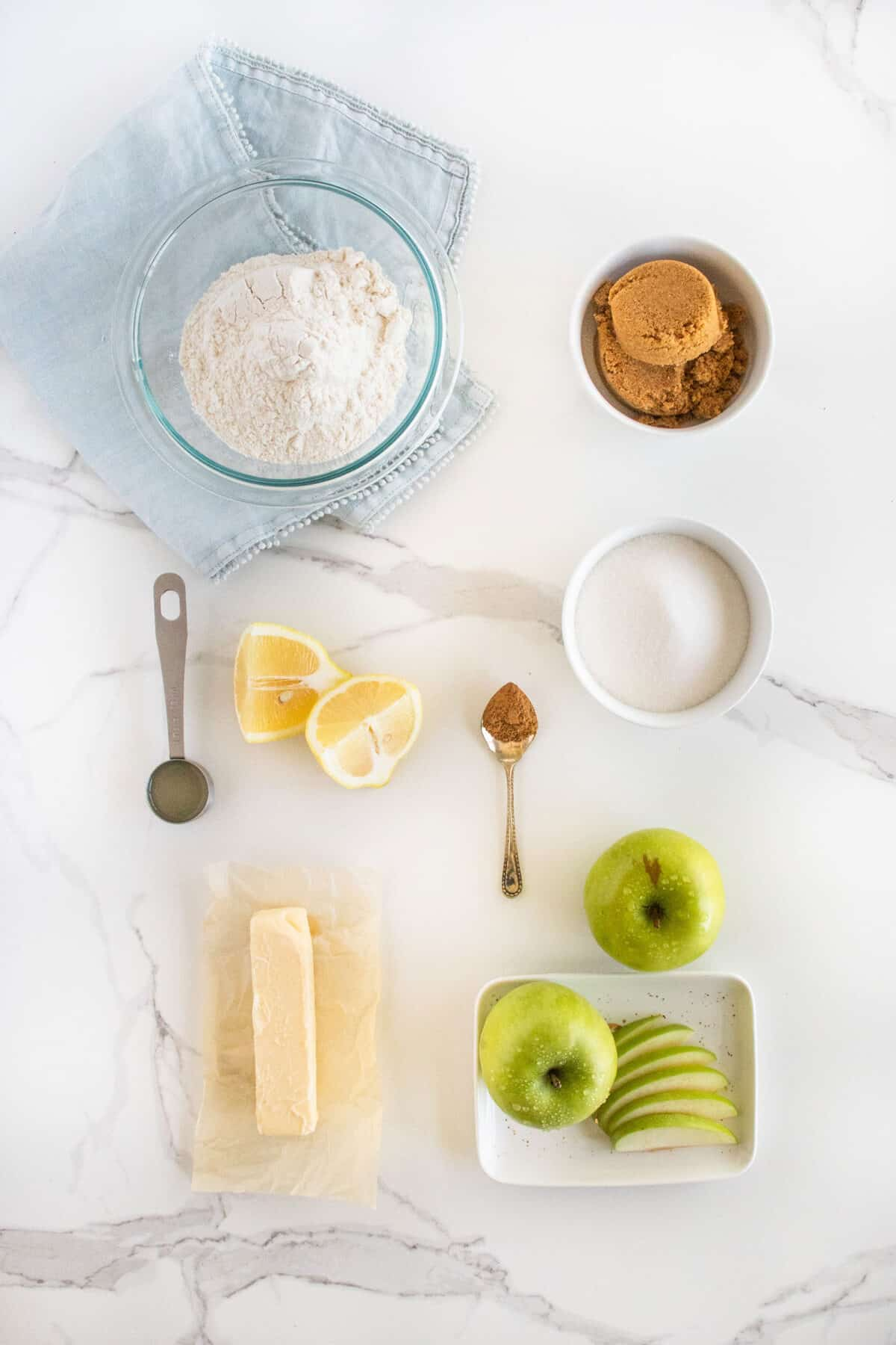 ingredients for apple brown betty