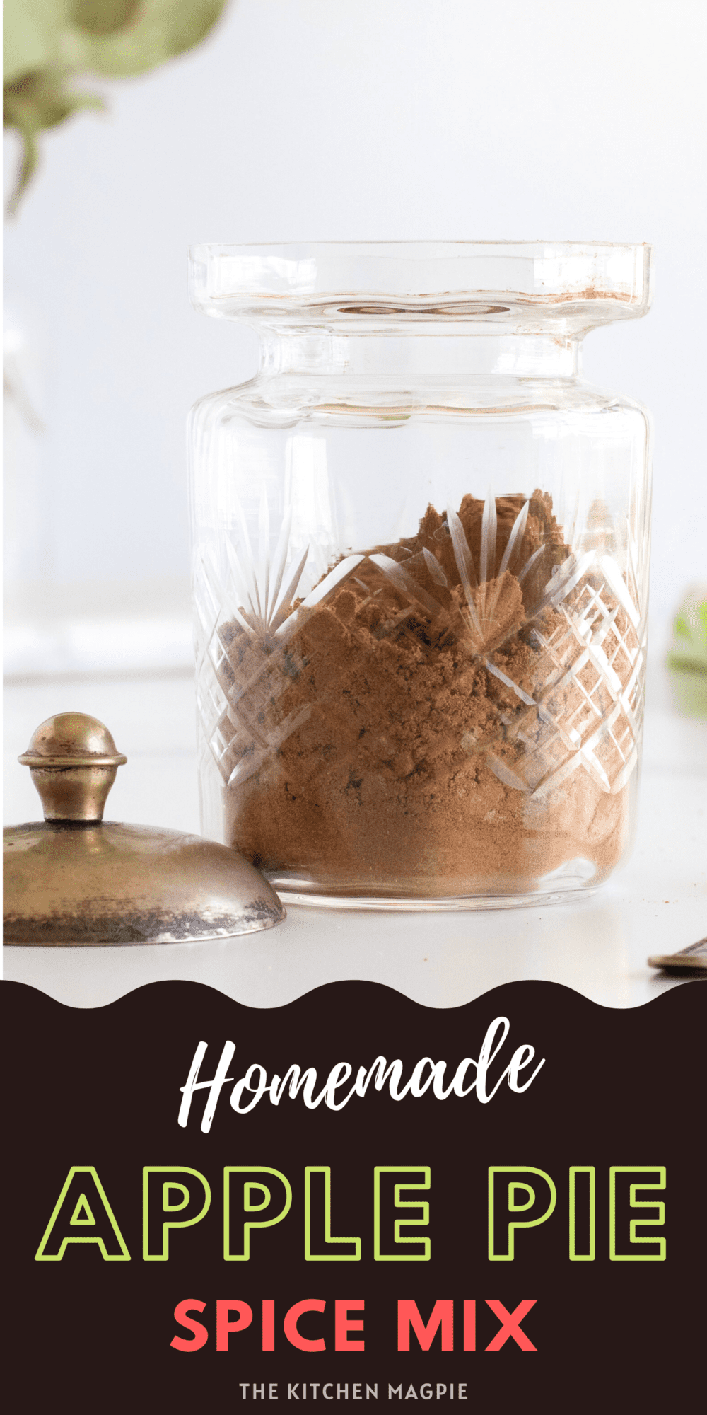 Homemade apple pie spice is so easy to make at home and customize to your taste preference that you will never buy it from the store again!