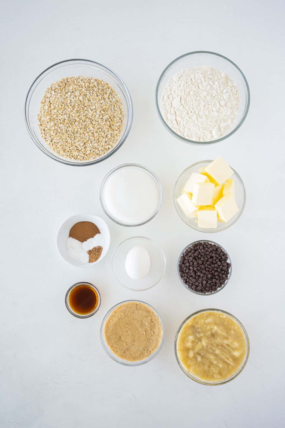 banana oatmeal cookie ingredients
