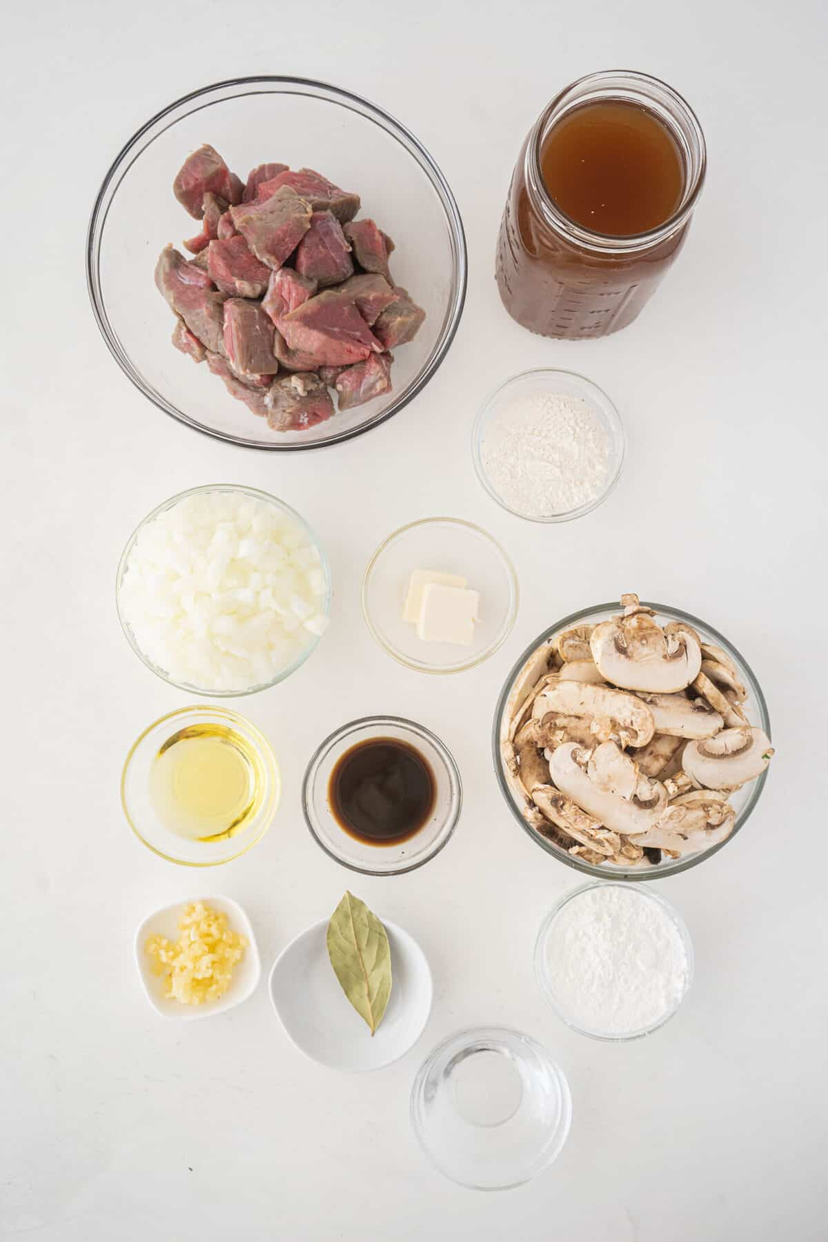 beef tips and gravy ingredients