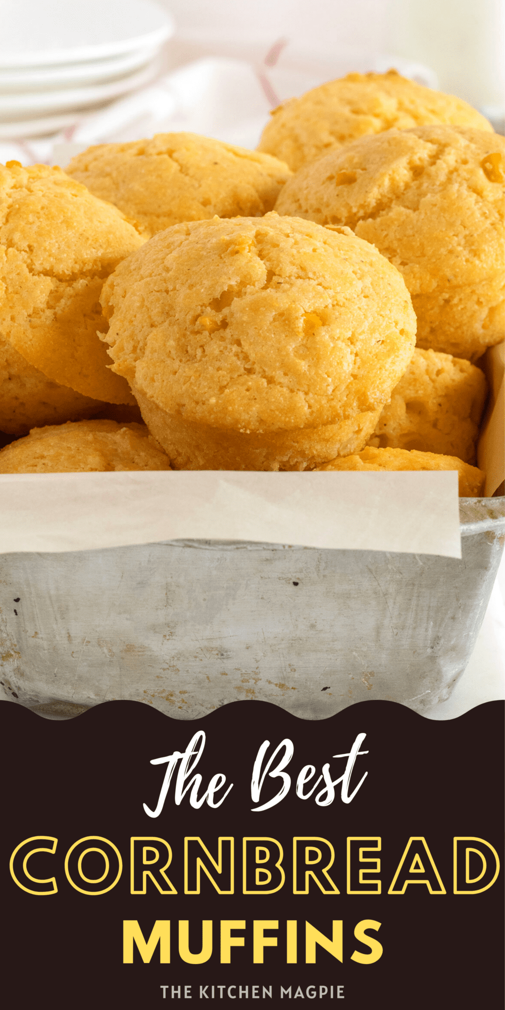 These easy, made-from-scratch cornbread muffins are the perfect delicious side for soups, chilis and stews! You can adjust the sweetness as desired.