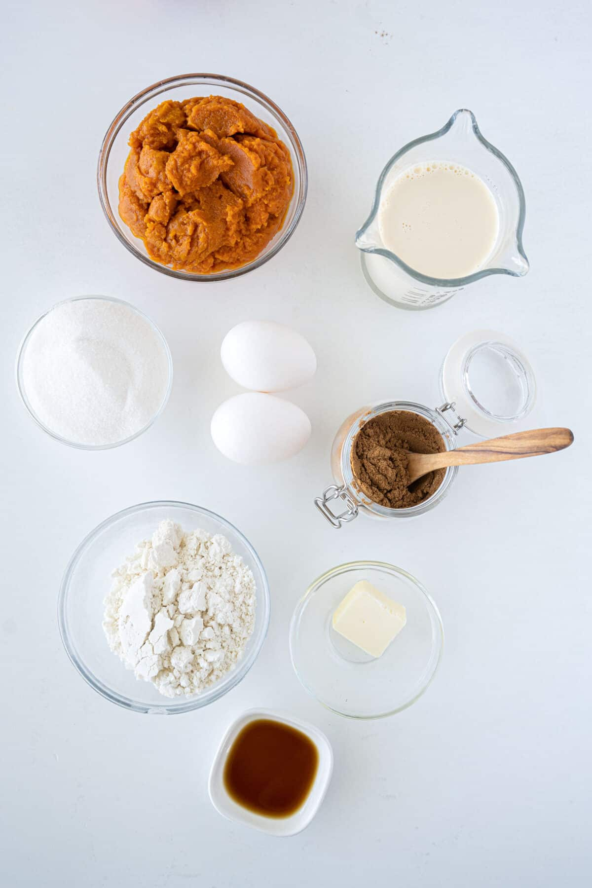 impossible pumpkin pie ingredients